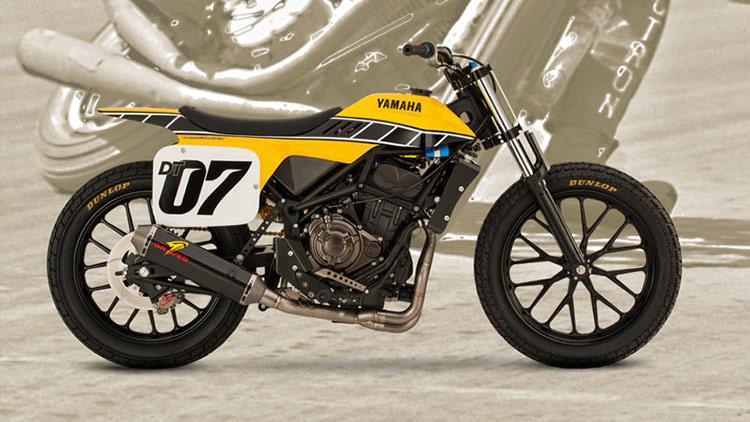 Motowish big bike DT 07 4 - มาหล่อเลย Yamaha DT-07 รถคอนเซ็ปสไตส์สไลด์ - ในงาน AIM Expo motorcycle show ที่ออร์แลนโด ฟลอริด้า มีรถคันนึงจากยามาฮ่าน่าสนใจมาก รถคันนี้มีรหัส ว่า