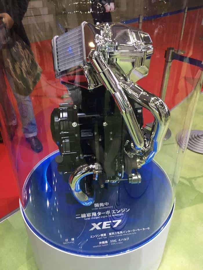 Suzuki โชว์เครื่องยนต์พลังเทอร์โบ ในงานโตเกียวมอเตอร์โชว์ | MOTOWISH 50