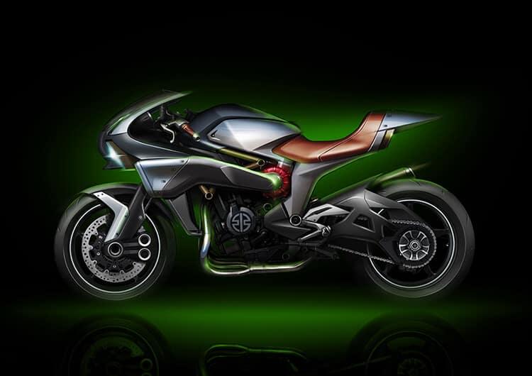 Kawasaki โชว์เครื่องยนต์ซุปเปอร์ชาร์ตรูปแบบใหม่ พร้อมภาพสเก็ตซ์รถคอนเซ็ป S2 | MOTOWISH 62