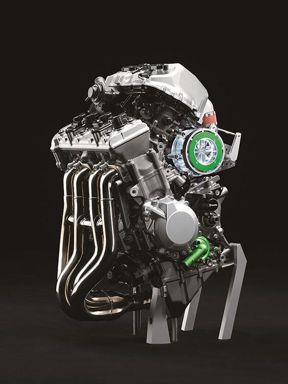Kawasaki โชว์เครื่องยนต์ซุปเปอร์ชาร์ตรูปแบบใหม่ พร้อมภาพสเก็ตซ์รถคอนเซ็ป S2 | MOTOWISH 64