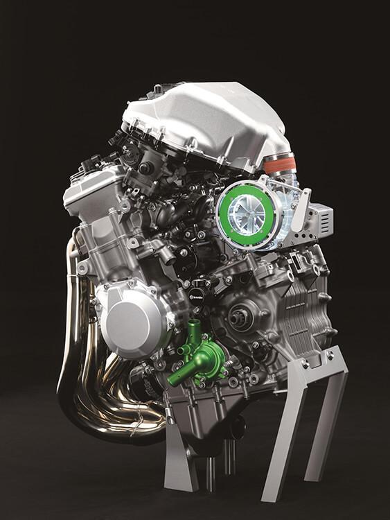 Kawasaki โชว์เครื่องยนต์ซุปเปอร์ชาร์ตรูปแบบใหม่ พร้อมภาพสเก็ตซ์รถคอนเซ็ป S2 | MOTOWISH 65