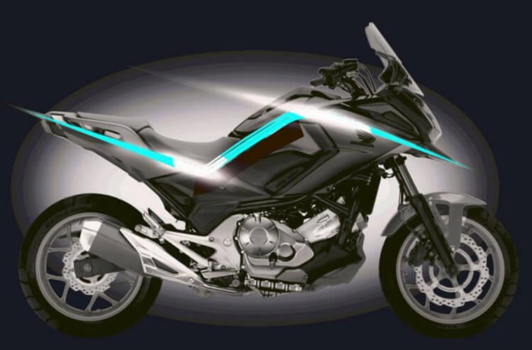 Motowish bid bike honda nc750x 2016 2 web - ยลโฉม Honda NC750X 2016 ครั้งแรก - ใกล้ถึงงานโตเกียวมอเตอร์โชว์ในสัปดาห์หน้าแล้ว ค่ายฮอนด้ามีแผนเปิดตัว NC750X ที่มีการเปลี่ยนรูปโฉมใหม่ และใส่รายละเอียดให้ตัวรถมากขึ้น