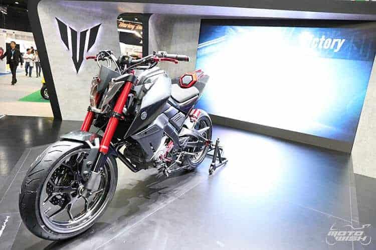 Yamaha M-SLAZ เน็คเก็ตไบค์น้องเล็ก สเป็คจัดเต็ม (Motor Expo 2015) | MOTOWISH 114