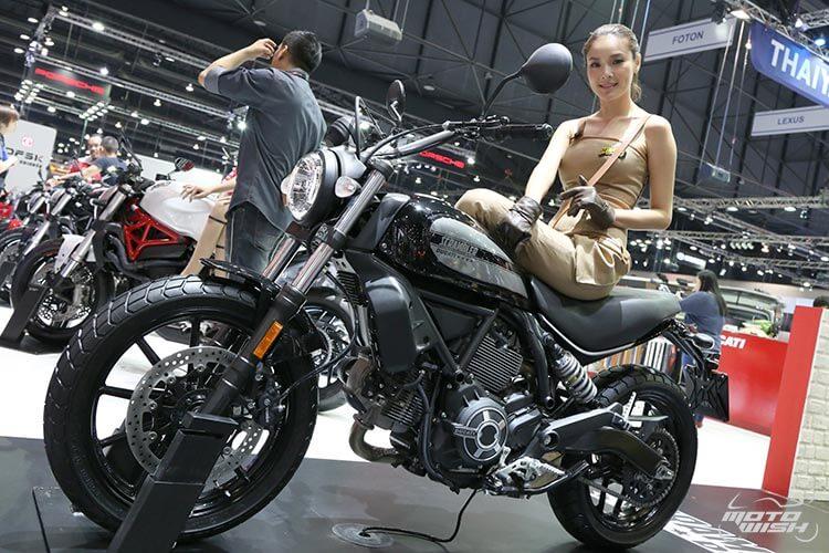 สายชิค สายชิล ห้ามพลาด ตัวจริงเสียงจริง Ducati Scrambler Sixty2 เครื่องยนต์ใหม่ 400 ซีซี (Motor Expo 2015)   MOTOWISH 108