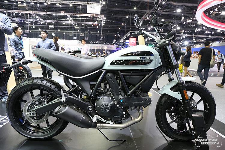 สายชิค สายชิล ห้ามพลาด ตัวจริงเสียงจริง Ducati Scrambler Sixty2 เครื่องยนต์ใหม่ 400 ซีซี (Motor Expo 2015)   MOTOWISH 103