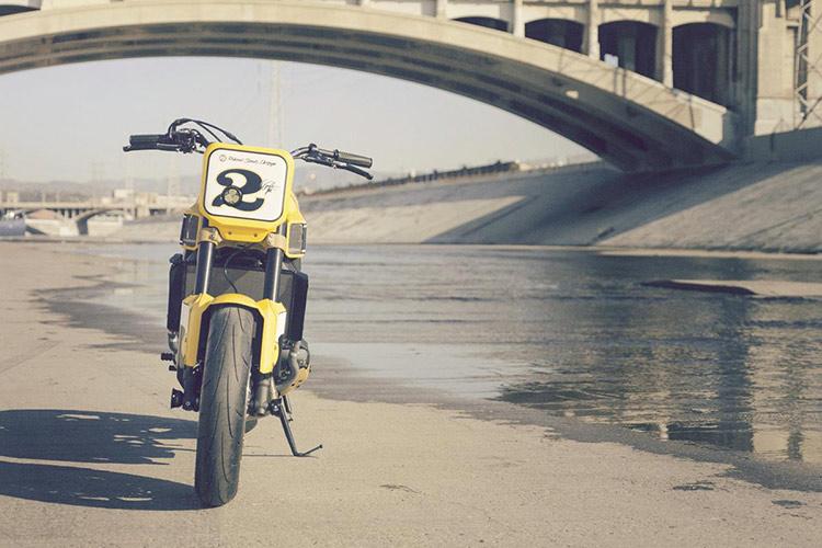 ชมกันแบบจุใจ Yamaha Faster Wasp flat-tracker By Roland Sands | MOTOWISH 3