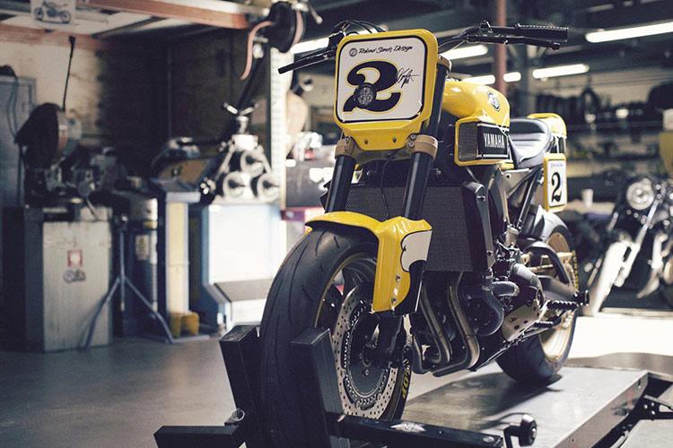 ชมกันแบบจุใจ Yamaha Faster Wasp flat-tracker By Roland Sands | MOTOWISH 16