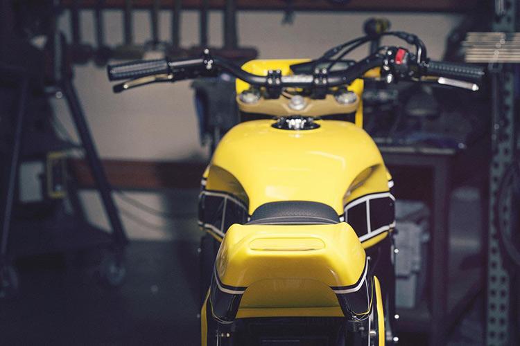 ชมกันแบบจุใจ Yamaha Faster Wasp flat-tracker By Roland Sands | MOTOWISH 18