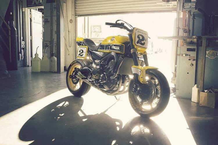 ชมกันแบบจุใจ Yamaha Faster Wasp flat-tracker By Roland Sands | MOTOWISH 4
