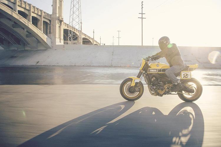 ชมกันแบบจุใจ Yamaha Faster Wasp flat-tracker By Roland Sands | MOTOWISH 23