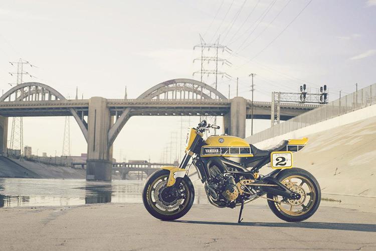ชมกันแบบจุใจ Yamaha Faster Wasp flat-tracker By Roland Sands | MOTOWISH 7