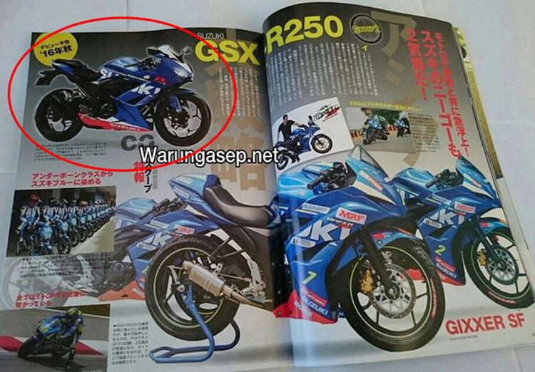 มาอย่างนี้ มันส์แน่!! Suzuki GSX-R250 มีแผนเปิดตัวเดือนกุมภาพันธ์ปีหน้า   MOTOWISH 94