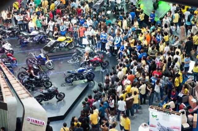 ปิดฉาก Motor Expo 2015 ยอดจองจักรยานยนต์โตกว่า 100 % Yamaha นำลิ่ว ซิวแชมป์ยอดจองสูงสุดในงาน | MOTOWISH 89