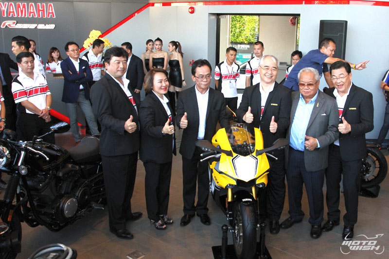 Web Motowish Bigbike Grand Opening Yamaha Riders Club 11 - Yamaha Riders' Club จัด Grand Opening เปิดบ้านหลังใหม่ ยิ่งใหญ่อลังการ - สำหรับคนที่อยากได้บิ๊กไบค์ Yamaha สักคัน คงต้องนึกถึง Yamaha Riders' Club แน่นอน ชื่อนี้การันตีได้ว่ามีบิ๊กไบค์สวยๆรอต้อนรับอย่าง
