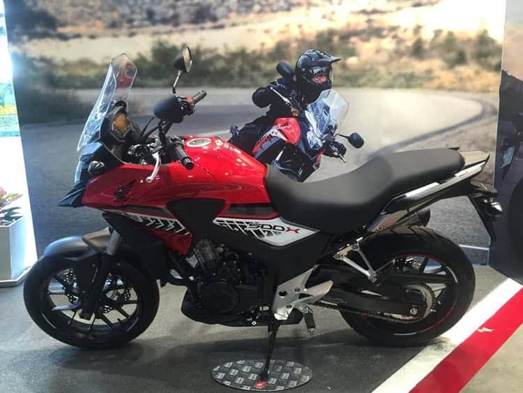 Honda เปิดขาย CB500X 2016 ใหม่ รวดเร็วดั่งสายฟ้าฟาด | MOTOWISH 49