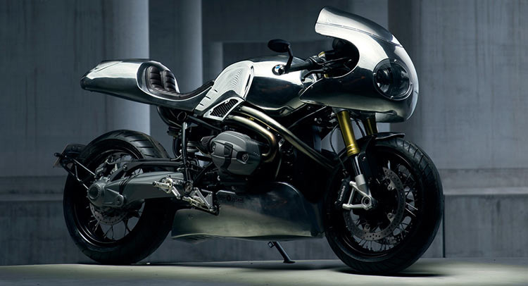 motowish bigbike BMW HP nineT - BMW HP nine T Custom สุดเฟี้ยว จากสำนัก High Octane (EICMA 2015) - เจ๋งไหมล่ะ? Custom Café Racer คันนี้ ไม่รู้จะสรรหาคำอะไรมาอธิบายในความสวยของมันดี รถคันนี้ถูกออกแบบ