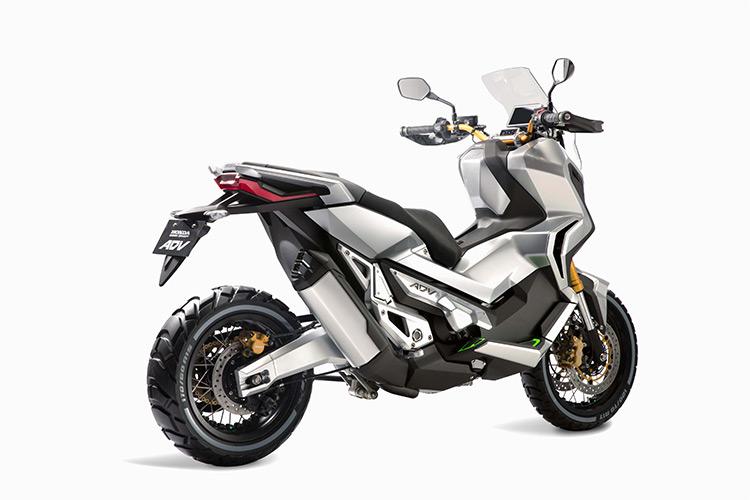 motowish bigbike City Adventure 3 - City Adventure สกู๊ตเตอร์ไบค์คอนเซ็ปขาลุย จาก Honda (EICMA 2015) - เมื่อ Honda ปล่อยรถสกู๊ตเตอร์ไบค์คอนเซ็ปออกมาในงาน EICMA เห็นแว๊บแรกนึกทันทีว่า รถอาร๊ายยยช่างเหมาะกับถนนเมืองไทยเป็นที่สุด