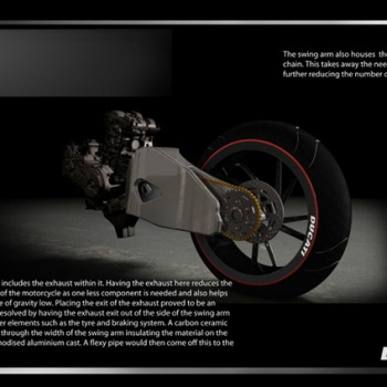 Ducati VR46 สุดยอดซูเปอร์ไบค์ปี 2018 จากแบบร่างของแฟนตัวยง Rossi | MOTOWISH 112