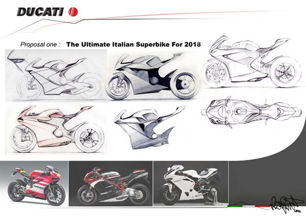 motowish bigbike Ducati VR46 - Ducati VR46 สุดยอดซูเปอร์ไบค์ปี 2018 จากแบบร่างของแฟนตัวยง Rossi - หากพูดถึง Ducati มันเป็นรถที่มีรูปแบบโดดเด่น และอัดแน่นไปด้วยเทคโนโลยีอยู่แล้ว แต่คันที่เราเห็นในภาพเป็น Ducati VR46
