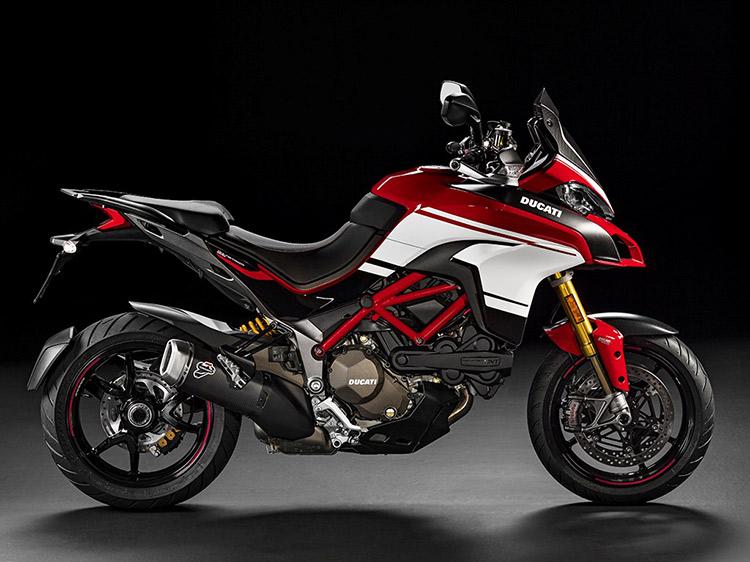 motowish bigbike ducati PIKESPEAK 2 - Ducati เผยทีเด็ด Multistrada 1200  ขาลุยทางฝุ่น (Enduro) และที่สุดของขาลุยทางดำ (Pikes Peak) (EICMA 2015) - Ducati ติดเขี้ยวเล็บ เสริมทีเด็ดให้ Multistrada 1200 ถึง 2 รุ่น รุ่นแรกเอาในสายลุย และอีกรุ่นเป็นการต่อยอดให้สุดกว่าเดิม