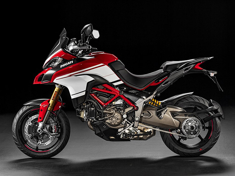 motowish bigbike ducati PIKESPEAK 4 - Ducati เผยทีเด็ด Multistrada 1200  ขาลุยทางฝุ่น (Enduro) และที่สุดของขาลุยทางดำ (Pikes Peak) (EICMA 2015) - Ducati ติดเขี้ยวเล็บ เสริมทีเด็ดให้ Multistrada 1200 ถึง 2 รุ่น รุ่นแรกเอาในสายลุย และอีกรุ่นเป็นการต่อยอดให้สุดกว่าเดิม