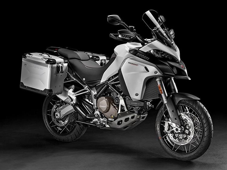 motowish bigbike ducati multistrada Enduro 6 - Ducati เผยทีเด็ด Multistrada 1200  ขาลุยทางฝุ่น (Enduro) และที่สุดของขาลุยทางดำ (Pikes Peak) (EICMA 2015) - Ducati ติดเขี้ยวเล็บ เสริมทีเด็ดให้ Multistrada 1200 ถึง 2 รุ่น รุ่นแรกเอาในสายลุย และอีกรุ่นเป็นการต่อยอดให้สุดกว่าเดิม