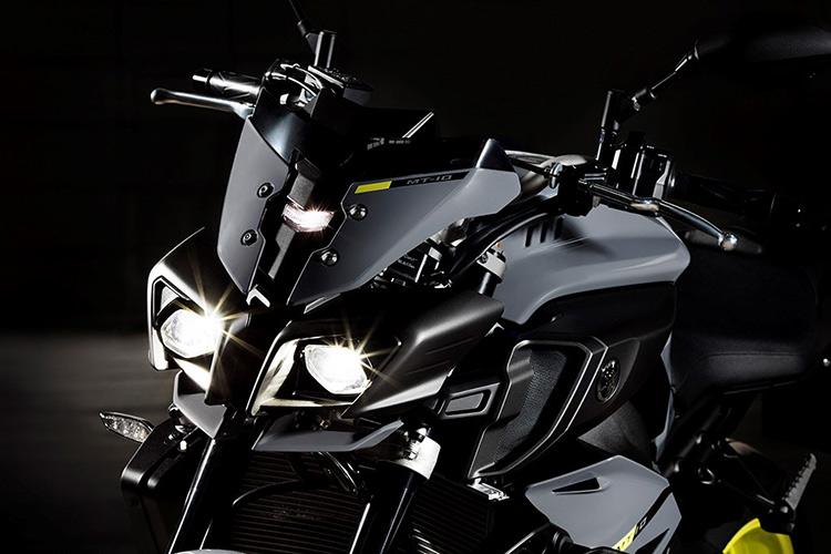 motowish bigbike yamaha MT10 13 - Yamaha ปล่อย MT-10 ซุปเปอร์เน็คเก็ตคลาส 1000 ลงตะบี้ตะบันกับผองเพื่อน (EICMA 2015) - ปล่อยให้ค่ายอื่นวาดลีลาสร้างชื่อกับรถเน็คเก็ตตัว 1000 ไว้มากมาย ถึงเวลาที่ Yamaha กระโดดร่วมวงส่ง MT-10 ลงฟาดฟัน