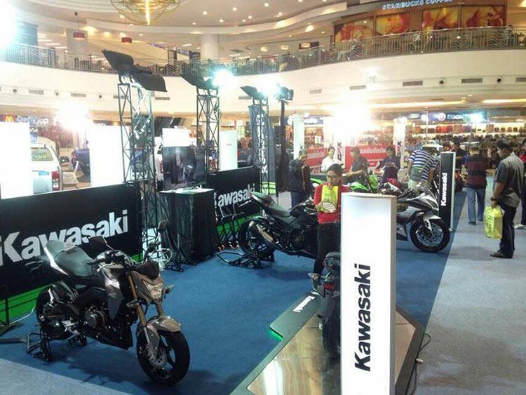 แฟนๆ MotoWish ซื้อรถ Kawasaki รุ่นเล็ก รับ Gift Voucher ฟรี 500 | MOTOWISH 9