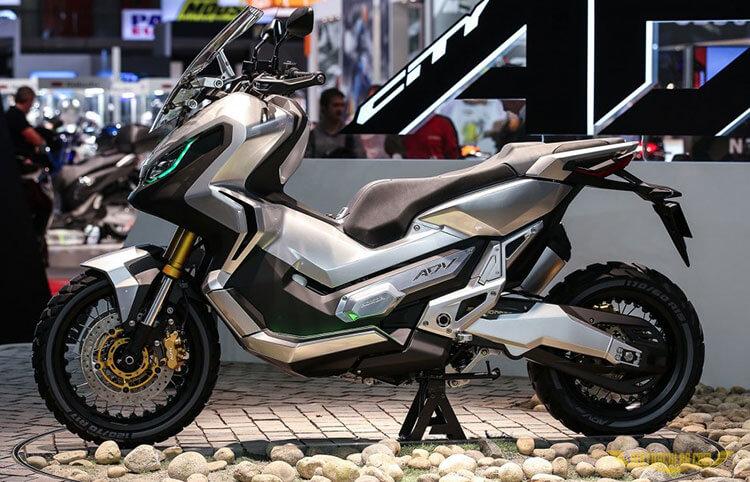 Honda Adventure Scooter กำลังจะมาในปี 2017 | MOTOWISH 95