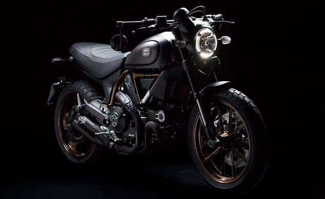 Ducati ร่วมมือกับ Italia Independent ออกแบบ Scrambler รุ่น Limited Edition | MOTOWISH 1