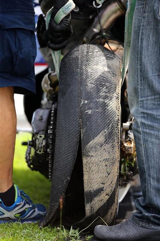 MotoGP มิชลินยางระเบิดเรื่องยังเงียบ... | MOTOWISH 87