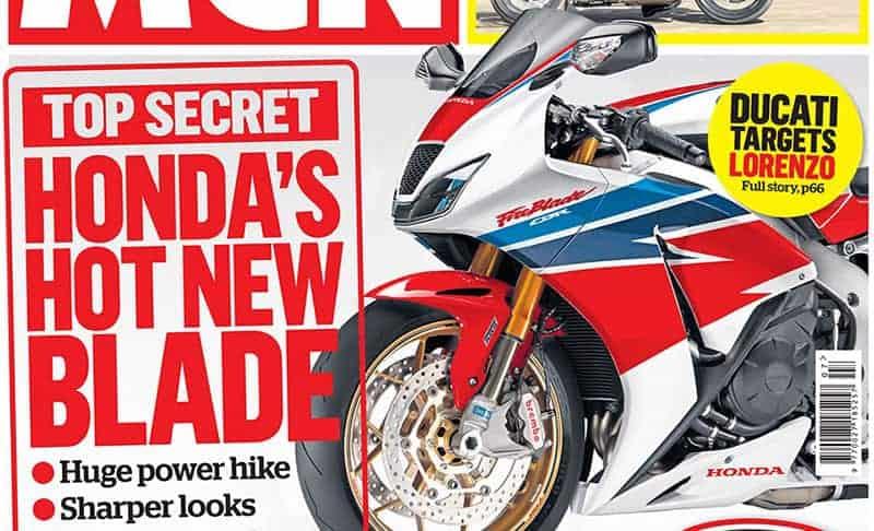 สื่อยักษ์ใหญ่เกาะอังกฤษ เผยภาพ Honda CBR 1000RR Fireblade 2017 ออกมาให้ชม | MOTOWISH 138
