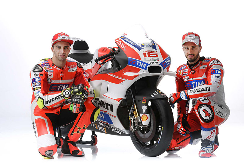 Ducati เปิดตัวม้าศึกลำใหม่ Desmosedici GP16 สวย โหด เนี๊ยบ | MOTOWISH 81