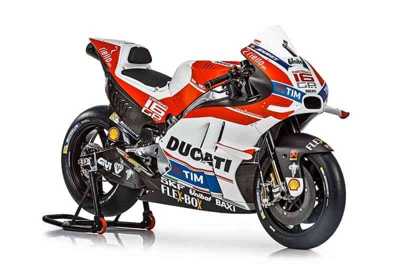 Ducati เปิดตัวม้าศึกลำใหม่ Desmosedici GP16 สวย โหด เนี๊ยบ | MOTOWISH 45
