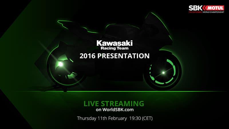 คืนนี้ใครรอดูบ้าง.... Kawasaki เปิดตัวรถแข่ง SBK 2016 (พร้อมลิ้งค์ชมสด) | MOTOWISH 135