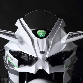 Kawasaki H2R Trickstar สุดโหด กด 385 กิโลเมตร/ชั่วโมง   MOTOWISH 75