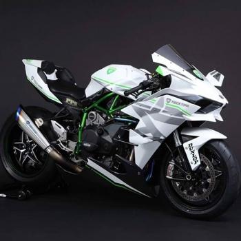 Kawasaki H2R Trickstar สุดโหด กด 385 กิโลเมตร/ชั่วโมง   MOTOWISH 77