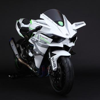 Kawasaki H2R Trickstar สุดโหด กด 385 กิโลเมตร/ชั่วโมง   MOTOWISH 78