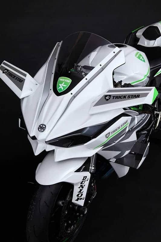 Kawasaki H2R Trickstar สุดโหด กด 385 กิโลเมตร/ชั่วโมง | MOTOWISH 80