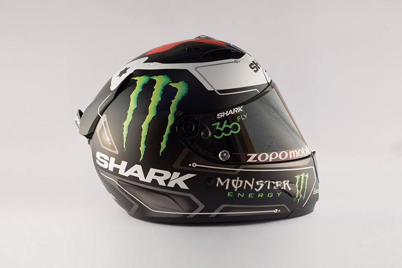 ดูกันเต็มๆ หมวก Shark Race R Pro ตัวใหม่ของ Lorenzo   MOTOWISH 64