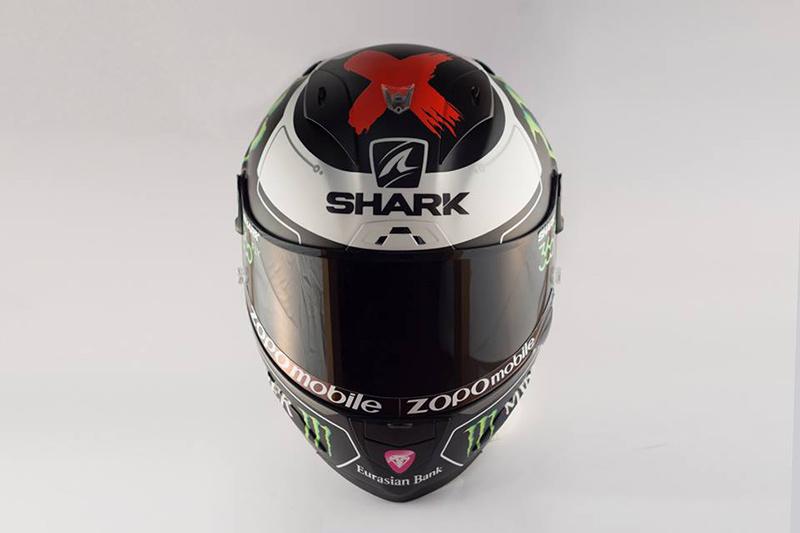 ดูกันเต็มๆ หมวก Shark Race R Pro ตัวใหม่ของ Lorenzo   MOTOWISH 66