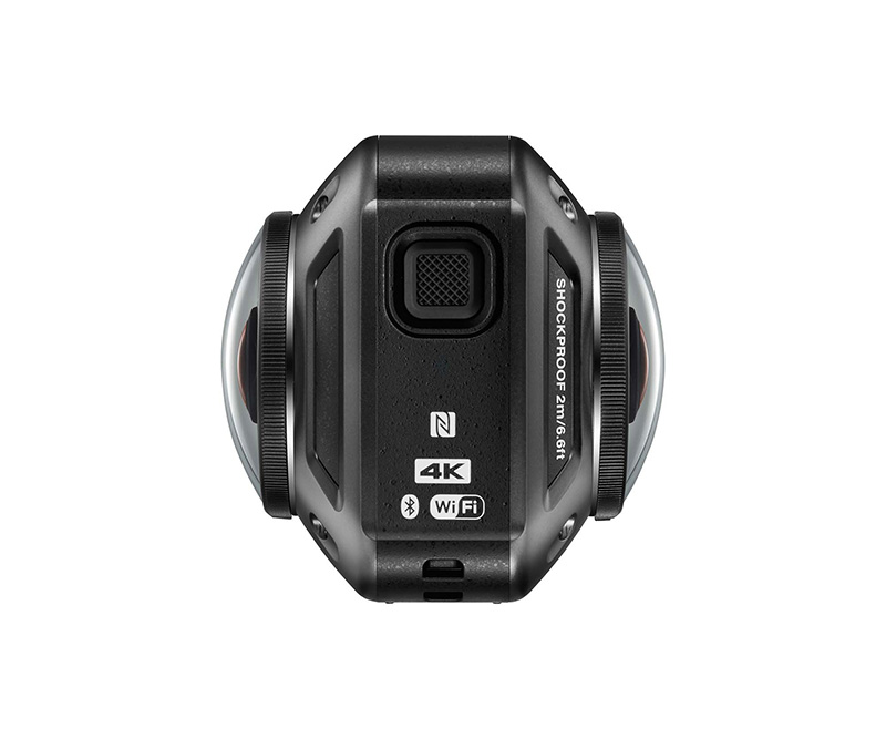 web Motowish Nikon KeyMission 360 video camera 3 - Nikon KeyMission กล้อง Action Camera 360 องศาสุดเฟี้ยว - Nikon แบรนด์กล้องที่มีความเชี่ยวชาญในด้านอุปกรณ์การถ่ายภาพ ยังอดรนทนไม่ไหวขอกระโดดร่วมวง Action Camera ด้วยอีกค่าย โดยเปิดตัว