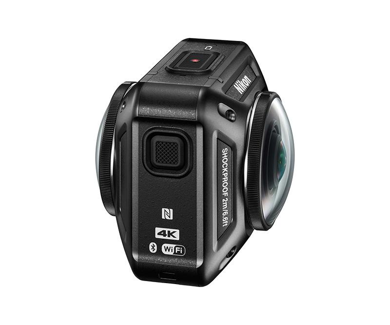 web Motowish Nikon KeyMission 360 video camera 6 - Nikon KeyMission กล้อง Action Camera 360 องศาสุดเฟี้ยว - Nikon แบรนด์กล้องที่มีความเชี่ยวชาญในด้านอุปกรณ์การถ่ายภาพ ยังอดรนทนไม่ไหวขอกระโดดร่วมวง Action Camera ด้วยอีกค่าย โดยเปิดตัว