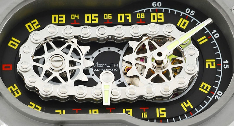 web motowish Azimuth SP 1 Crazy Rider 1 - Azimuth SP-1 Crazy Rider นาฬิกาสุดว๊าว ที่ทำมาเอาใจไบค์เกอร์ - ถ้าพูดถึงของรักของชอบของชายหนุ่มคงหนีไม่พ้นเรื่องเครื่องยนต์กลไลอย่างรถยนต์ หรือจักรยานยนต์เป็นแน่ แต่มีอีกสิ่งที่ถือว่าเป็นเครื่องประดับชิ้นเอกของชายหนุ่มก็คือ นาฬิกา