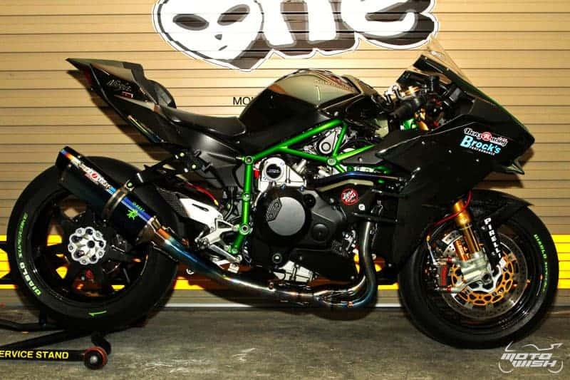 Kawasaki Ninja H2 Benz Racing รถล้านห้า...ของแต่งล้านหก !!! | MOTOWISH 122