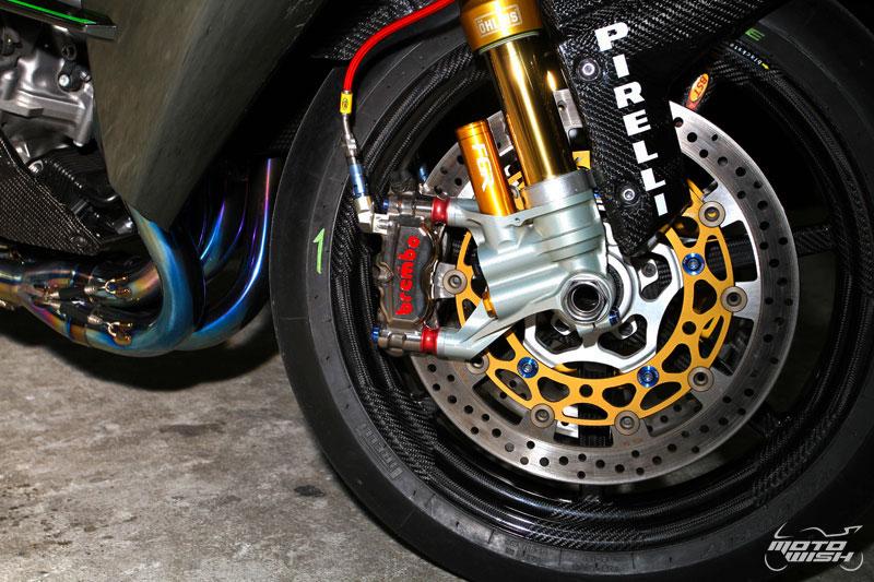 Kawasaki Ninja H2 Benz Racing รถล้านห้า...ของแต่งล้านหก !!! | MOTOWISH 129