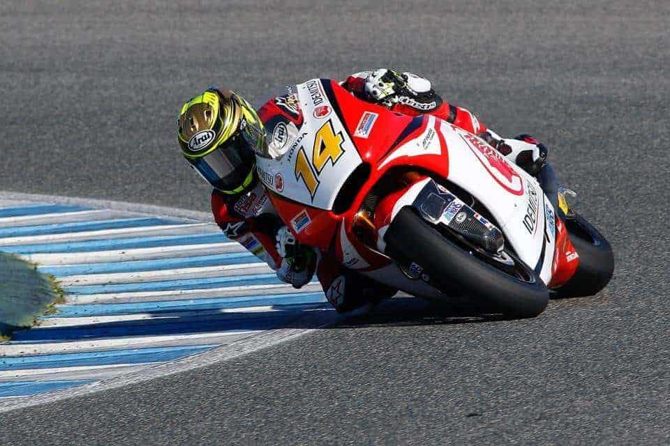 ฟิล์ม รัฐภาคย์ วิไลโรจน์ ลงทดสอบ Moto2 สนามเฆเรซ ประเทศสเปน   MOTOWISH 135