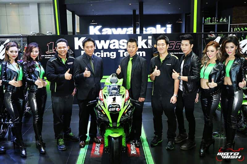 Kawasaki จัดบูธเต็มสเตปพร้อมโปรโมชั่นเกินห้ามใจ !!! (MOTOR SHOW 2016) | MOTOWISH 92