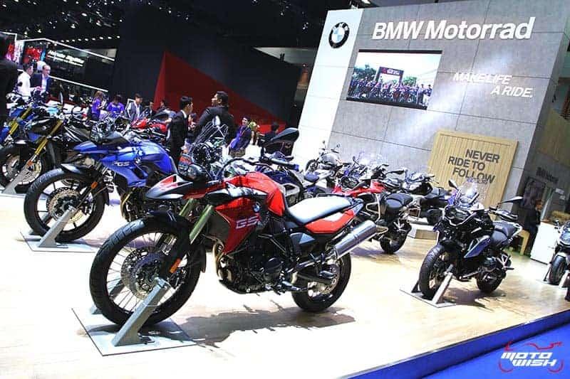 BMW Motorrad แบรนด์หรูพร้อมเปิดตัวรุ่นประกอบในไทย (MOTOR SHOW 2016) | MOTOWISH 162