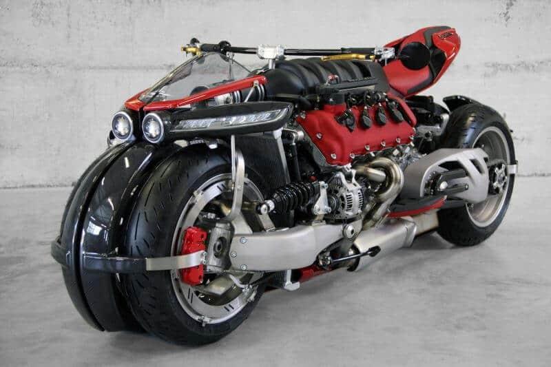 โหด สุดติ่ง Lazareth LM 847 มอเตอร์ไซต์ เครื่อง Maserati V8 470 ม้า | MOTOWISH 99